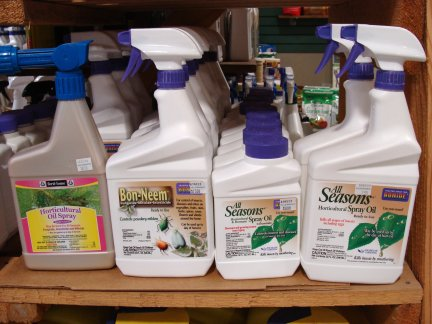 Horticultural Oil products available at Hillermann Nursery and Florist