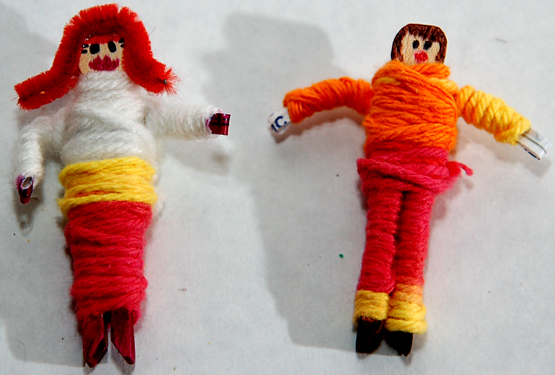 Worry dolls-mine