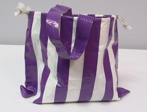 Duct Tape Beach Bag