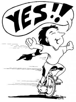 Yes unicycle