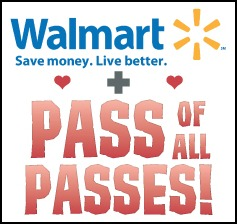 Pass of All Passes + $20 Walmart GIft Card