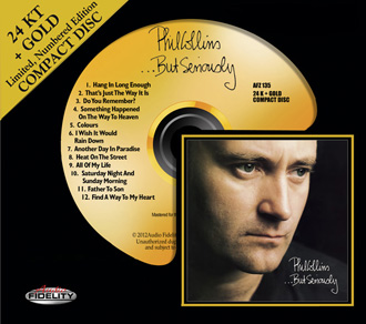 af Phil Collins But Seriously CD cover