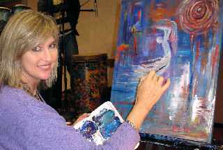 Janice VanCronkhite at work