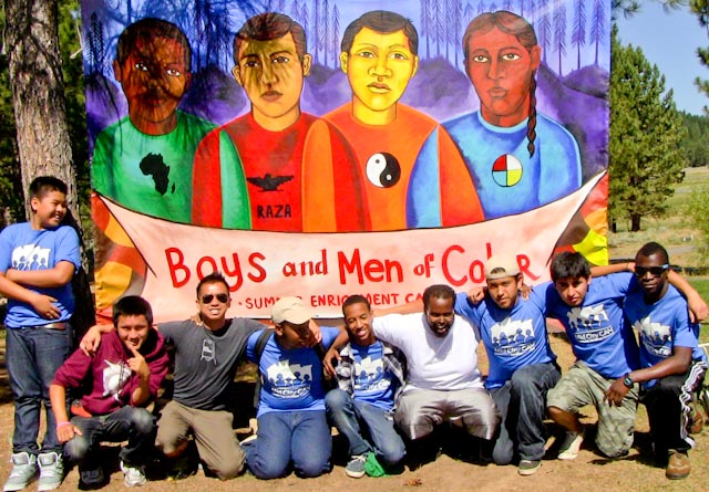 City Heights Boys and Men of Color attendees