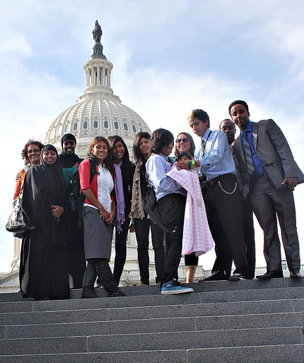 Members of Mid-City CAN went to Washington, D.C. to present at the American Public Health Association meeting.