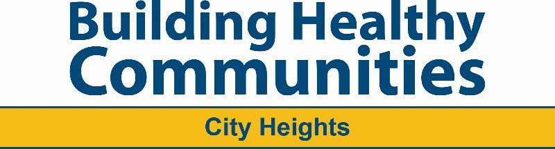 Building Healthy Communities: City Heights