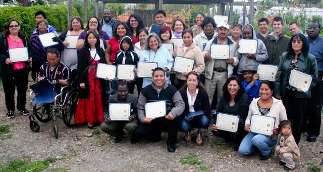 Built Environment Team graduates