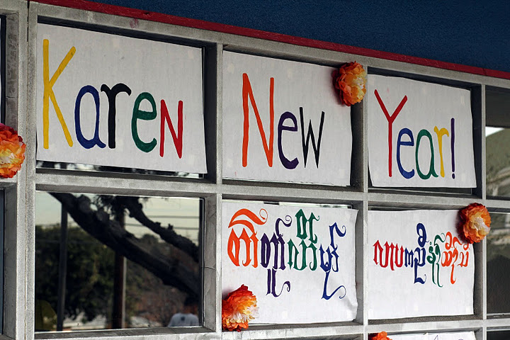 On Jan. 14, Crawford students celebrated Karen New Year.