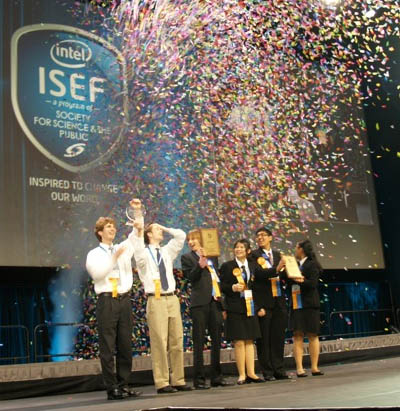 International Science winners