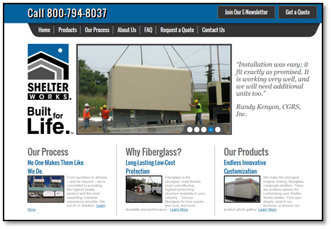 Shelter Works Home Page