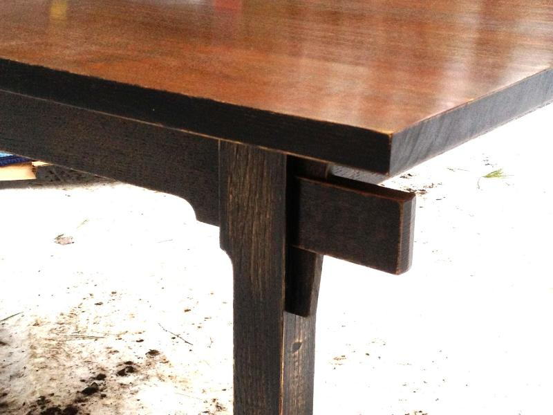 Mark's table, detail