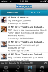 foursquare-tips
