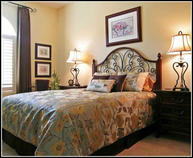 Warm & inviting guest bedroom