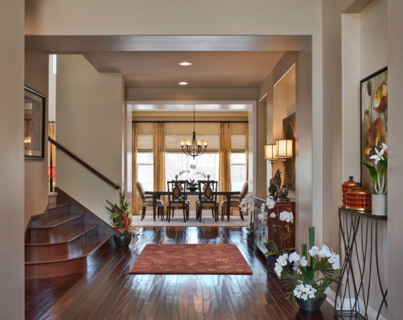 In The Above Photo You Can See Spacious And Dramatic Entry Of This Beautiful Home Leads Directly Into Elegant Formal Dining Room