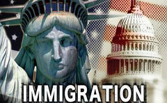 Immigration - Statue of Liberty - Words