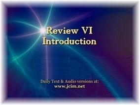 Review VI