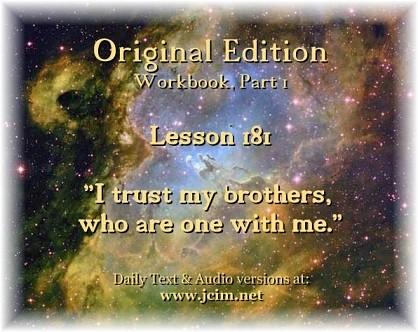 ACIM Lesson 181