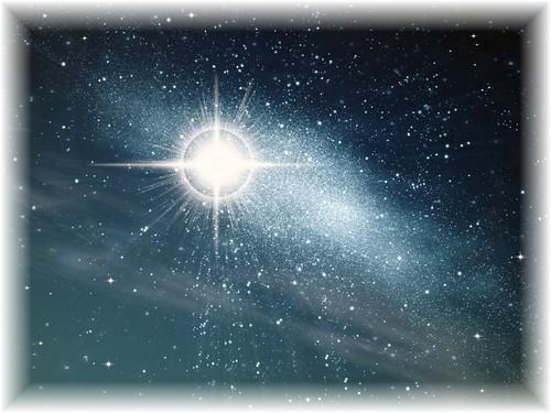 Unchanging Star in Eternal Sky