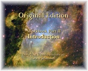 Workbook Part II Introduction