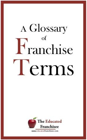 Glossary of Franchise Terms cover