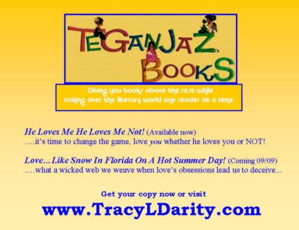 Teganjaz Books Logo