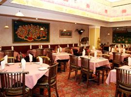 Lotus Cuisine of India Dining Room