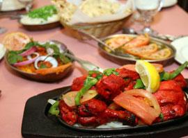 Lotus Cuisine of India Food