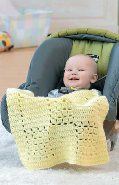 New Crochet Car Seat Blankets 3 Free Patterns Daily Deal Winner