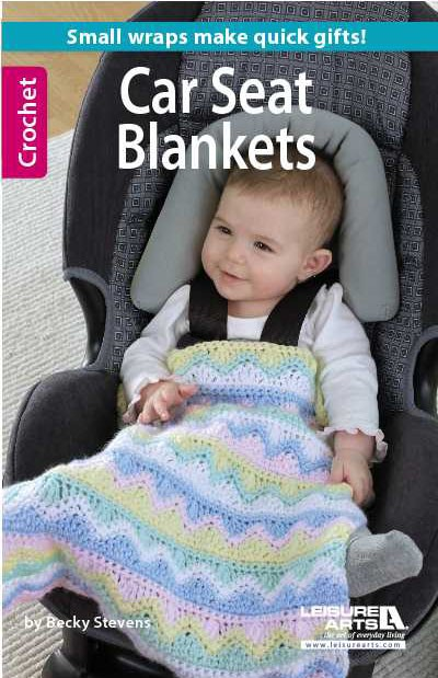 Knit Pattern For Baby Car Seat Blanket : NEW Crochet Car Seat Blankets + 3 FREE Patterns + Daily Deal & Winner