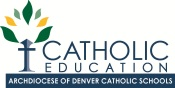 Office of Catholic Schools Logo