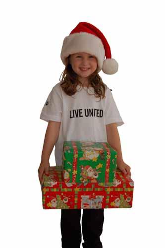 Christmas LU Girl