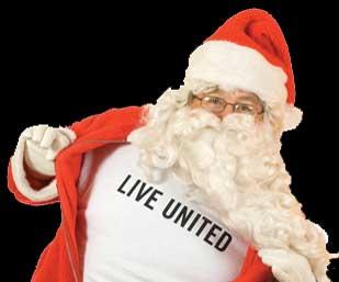 LIVE UNITED Santa