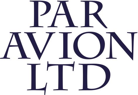 Par Avion B/W logo
