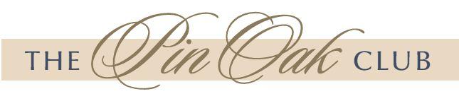 The Pin Oak Club logo