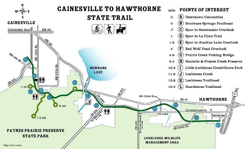 GainesvilleHawthorne Trail