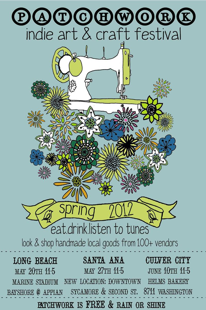 patchwork card spring 2012