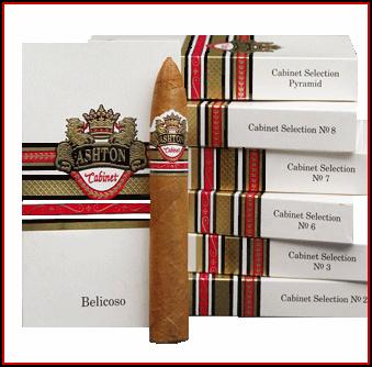 Ashton Cabinet Cigar Packs