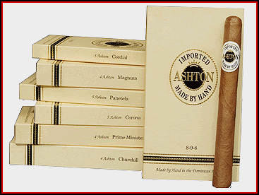 Ashton Cigar Packs