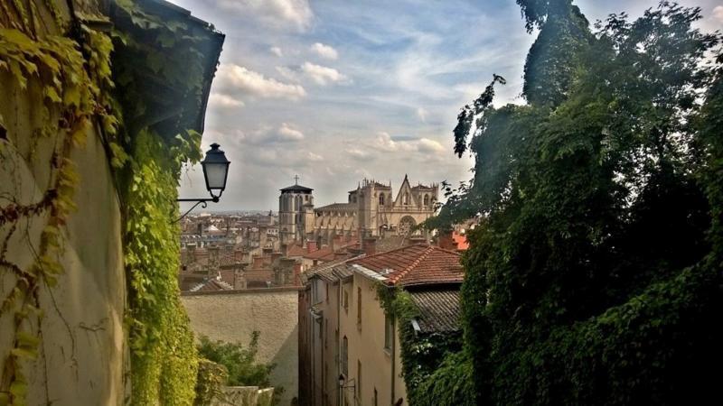 La magnifique ville de Lyon