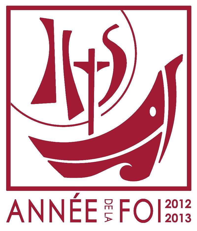 logo Ann�e de la foi 2012-2013