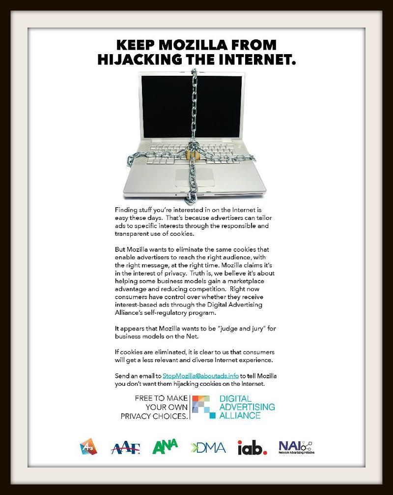 Stop Mozilla Ad