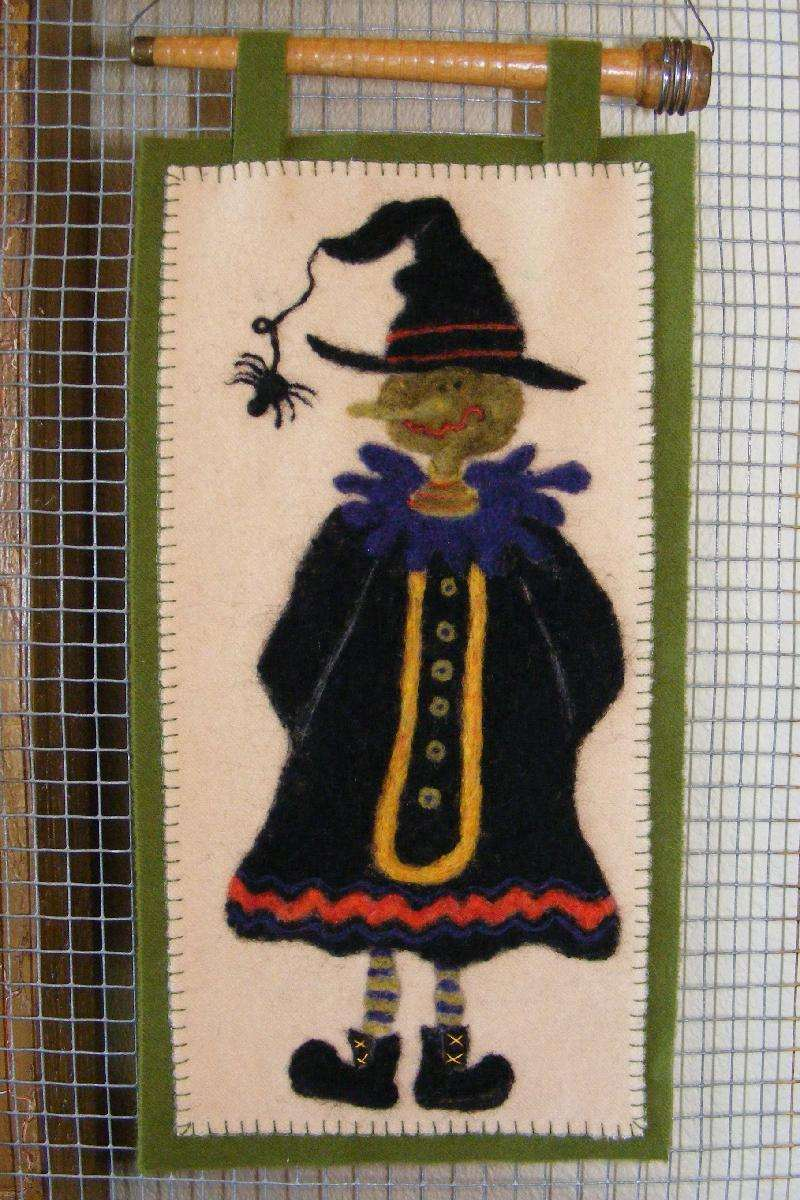 Ghoulish Girl Wall Hanging