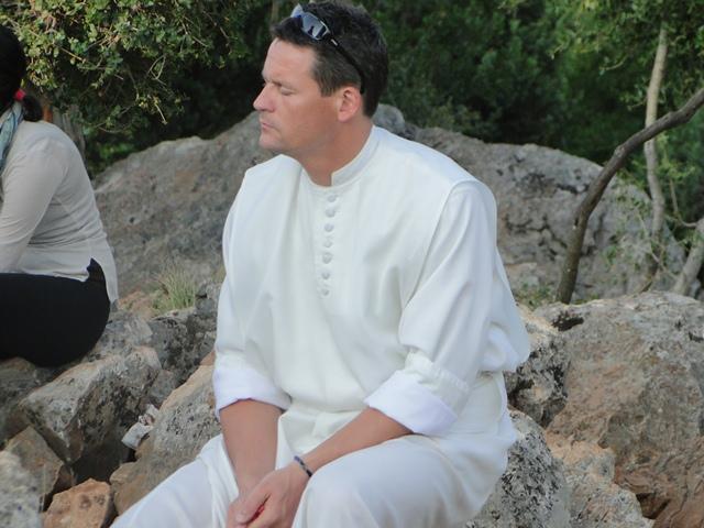 religious in prayer in Medjugorje