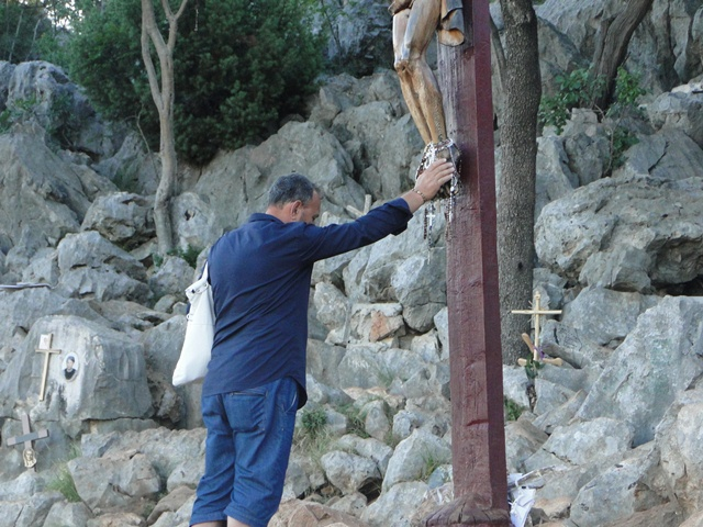 man and cross