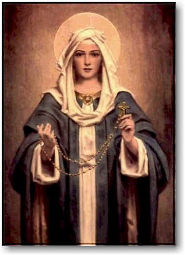 Our Lady with Rosary