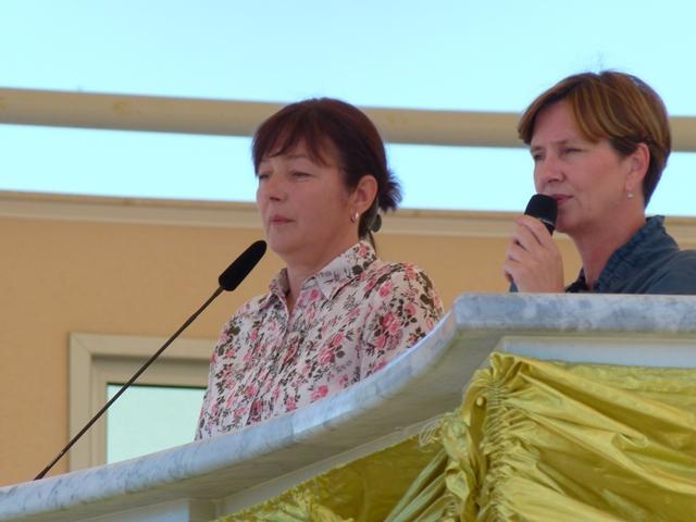 Ivanka speaks at the 30th anniversary