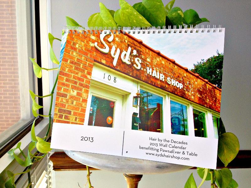 Syd's Hair Shop Calendar 2013