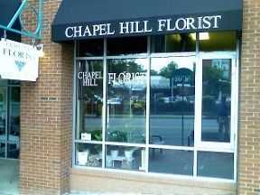 Chapel Hill Florist Store Front