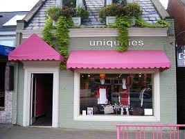 Uniquities - Pink Awning