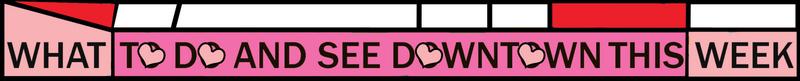 Valentine's Weekly Email header